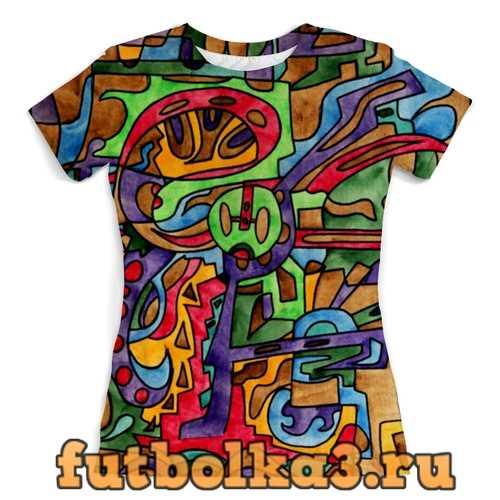Футболка -0--[RFSAL]` женская