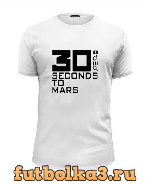 Футболка 30 Seconds To Mars мужская