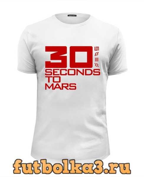 Футболка 30 seconds to mars мужская