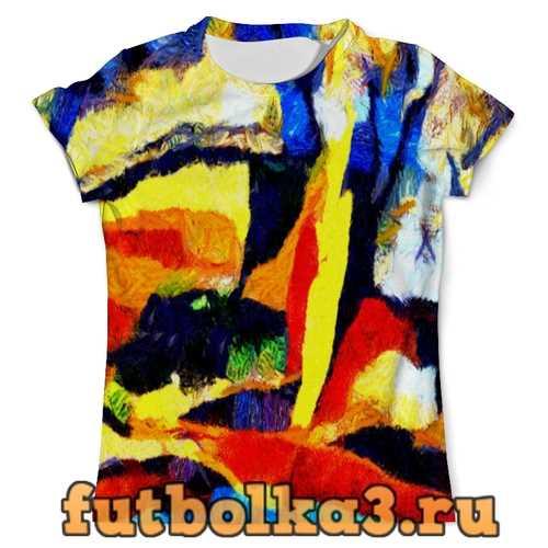 Футболка Абстракция красок мужская