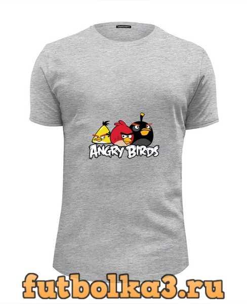 Футболка Angry birds мужская
