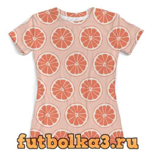 Футболка Апельсины женская