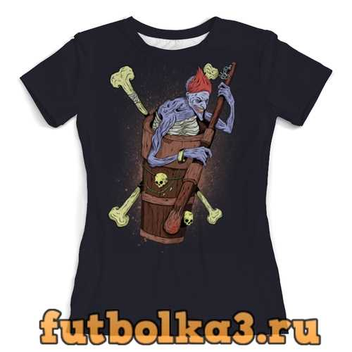 Футболка Баба яга женская