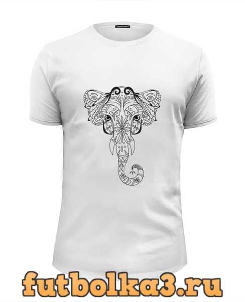 Футболка Белый слон мужская