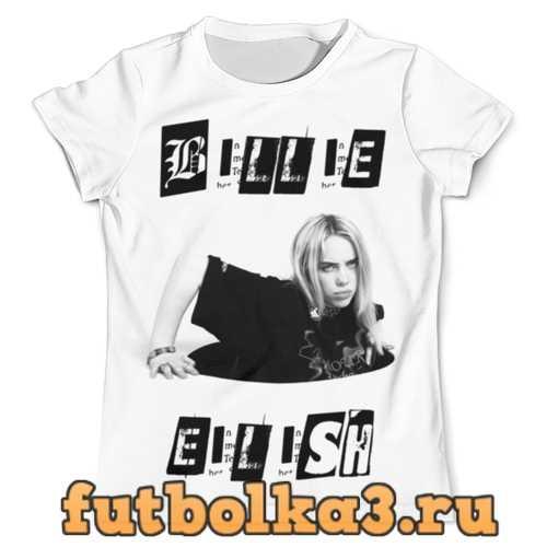Футболка Billie Eilish мужская
