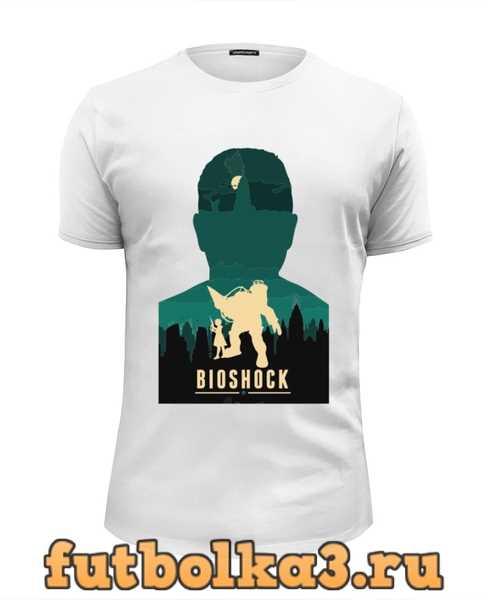 Футболка Biochock poster мужская
