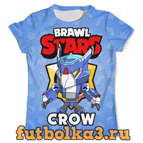 Футболка BRAWL STARS CROW мужская