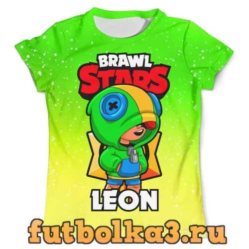 Футболка BRAWL STARS LEON мужская