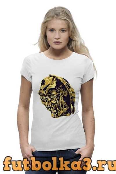 Футболка C-3PO (Звездные Войны) женская
