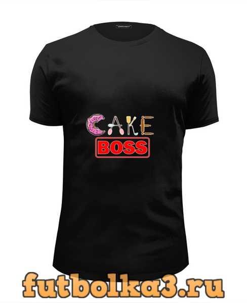 Футболка Cake boss мужская