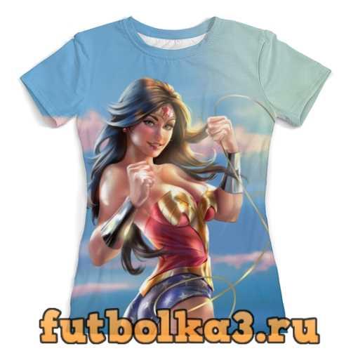 Футболка Captain America женская
