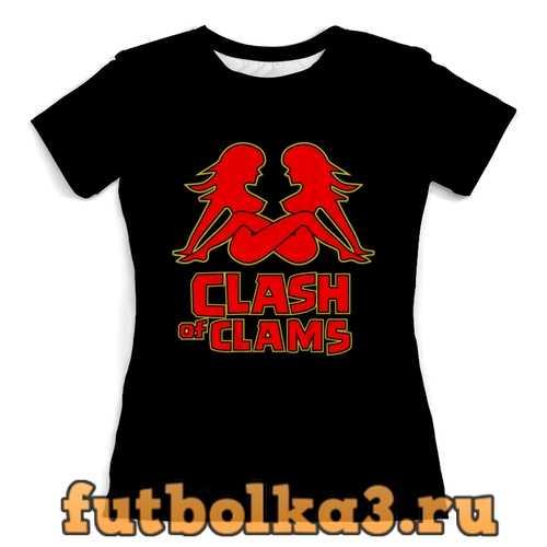 Футболка Clash of clams женская