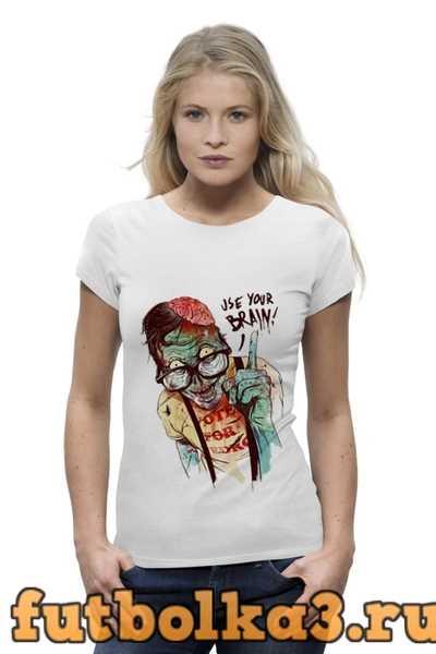 Футболка Clever Zombie женская