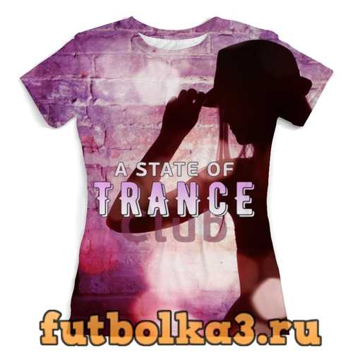 Футболка Club Trance женская
