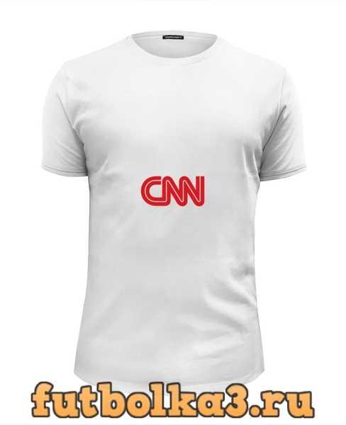Футболка CNN (Cable News Network) мужская