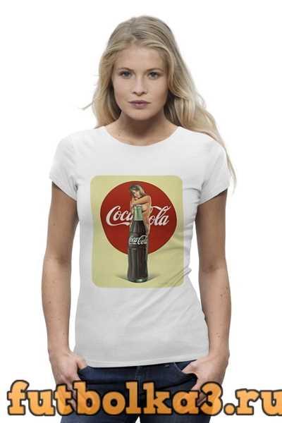 Футболка Coca-Cola женская