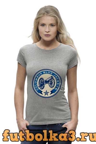 Футболка Columbus Blue Jackets жен�ка�