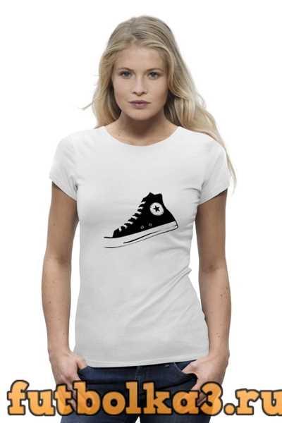 Футболка Converse two женская