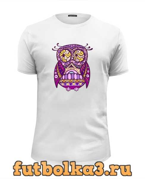 Футболка Cова, owl мужская