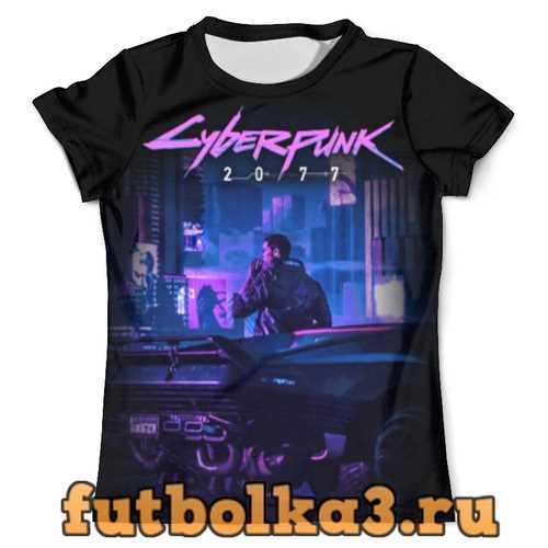 Футболка Cyberpunk 2077 мужская