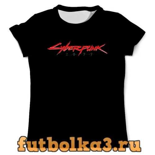 Футболка Cyberpunk 2077 SAMURAI мужская