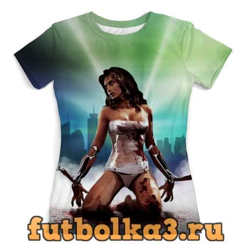 Футболка Cyberpunk 2077 женская