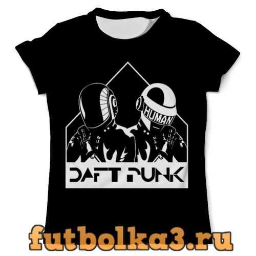 Футболка daft punk мужская