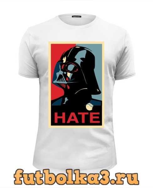 Футболка Darth Vader - Hate мужская