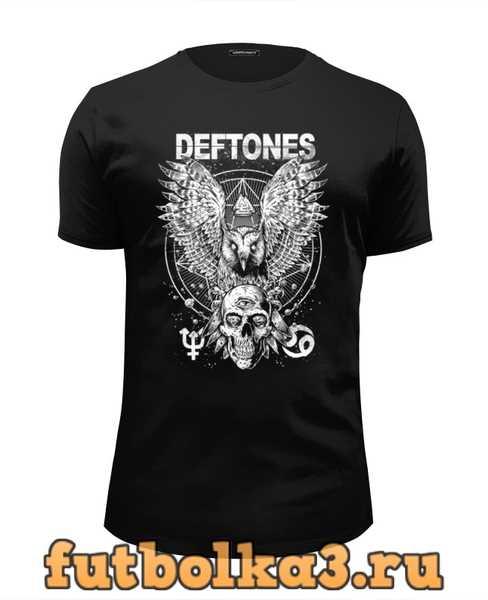 Футболка Deftones мужская