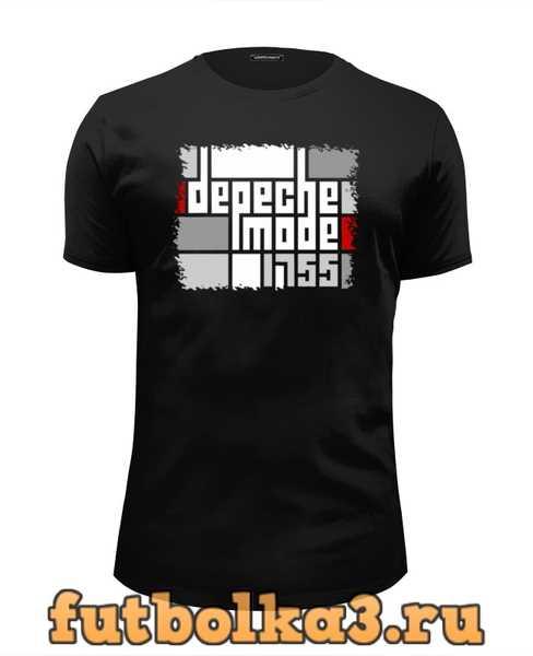Футболка Depeche Mode мужская