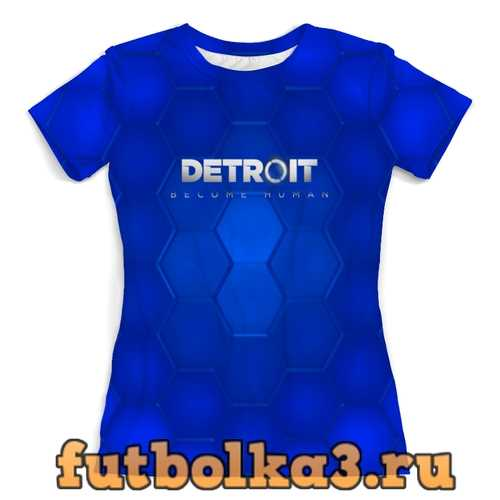 Футболка Detroit Become Human женская