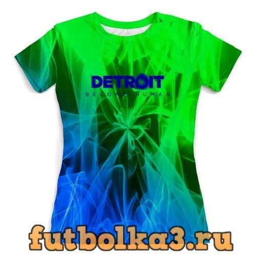 Футболка Detroit женская