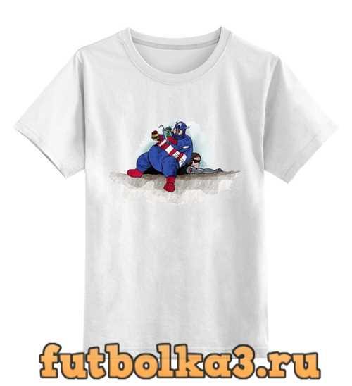 Футболка детская Captain America