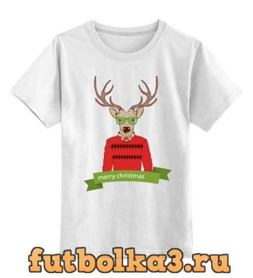 Футболка детская Christmas Deer