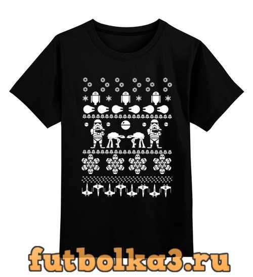Футболка детская Christmas Star Wars