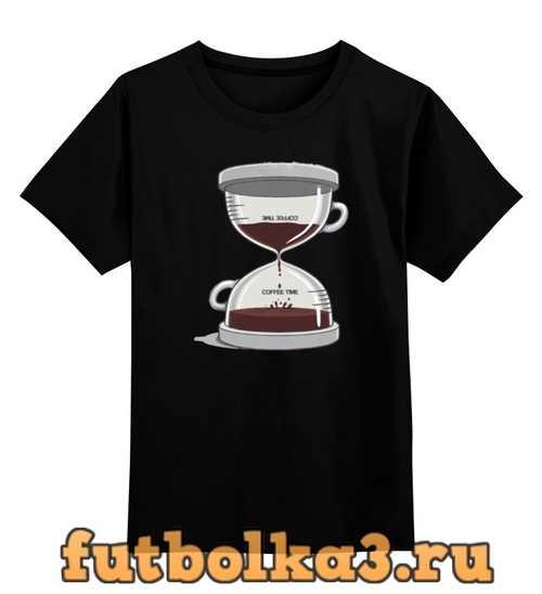 Футболка детская COFFEE TIME / Время Кофе