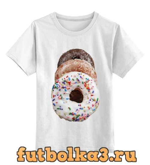 Футболка детская Donuts