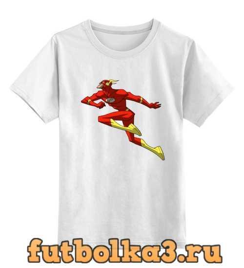 Футболка детская Flash (Молния)