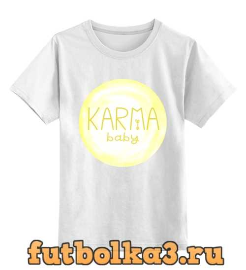 Футболка детская Karma Baby