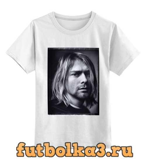 Футболка детская Kurt Cobain