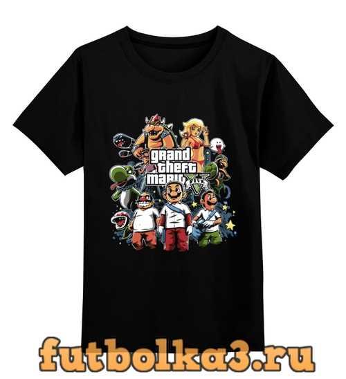 Футболка детская Марио - GTA