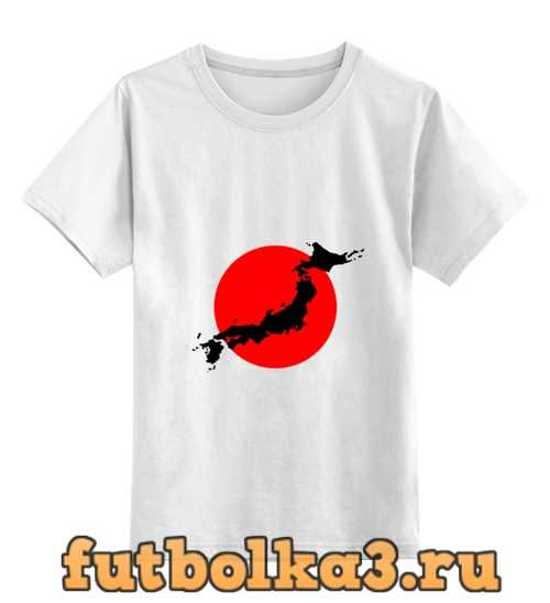 Футболка детская Остров Япония