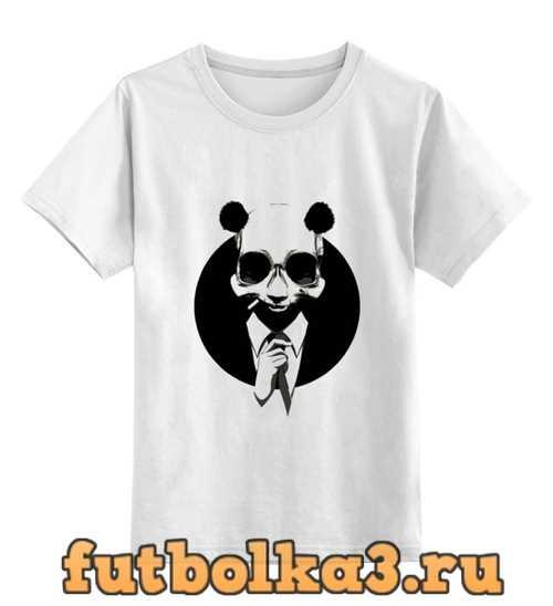 Футболка детская Панда в костюме