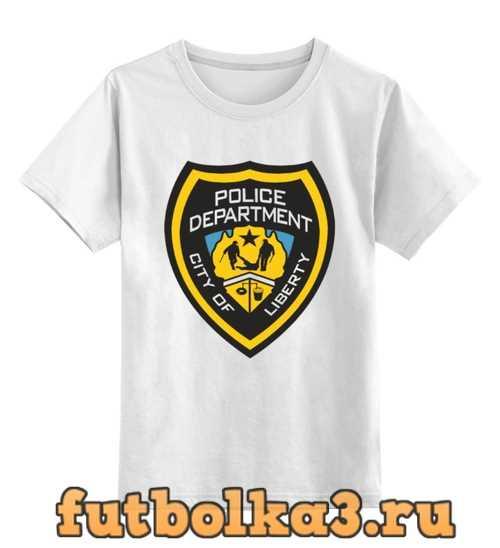 Футболка детская Police Department