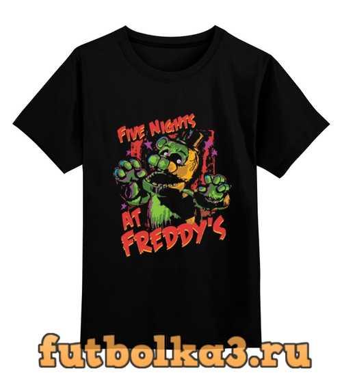 Футболка детская Пять ночей у Фредди (Five Nights at Freddy's)