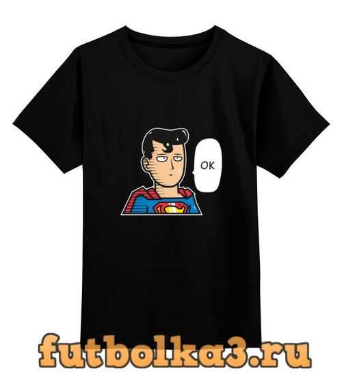 Футболка детская Сайтама - Супермен