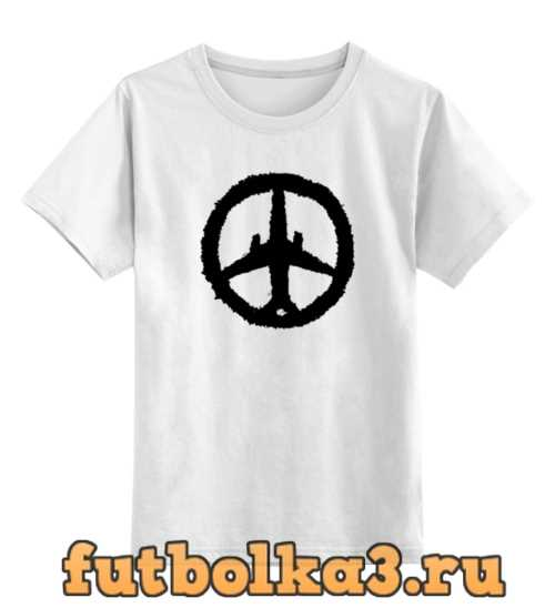 Футболка детская Самолет, Солидарность, Россия (А321)