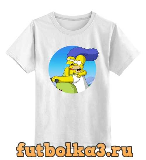 Футболка детская Симпсоны