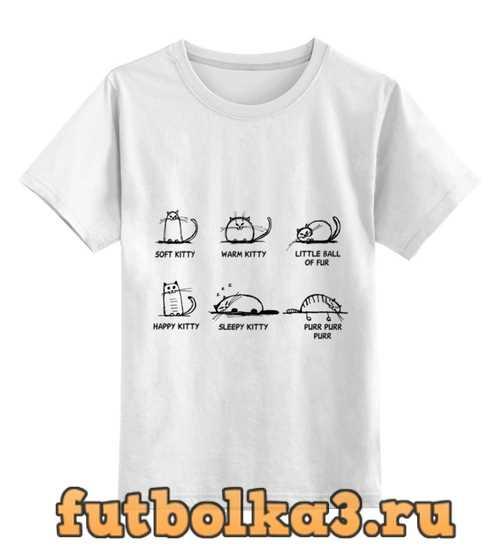 Футболка детская Soft kitty сериал Теория Большого взрыва
