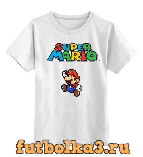 Футболка детская Super Mario